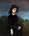 Gustave Courbet - Woman in a Riding Habit
