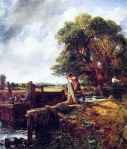 John Constable - A Boat Passing a Lock