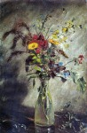 John Constable - Flowers in a Glass Vase_ Study