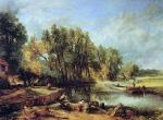 John Constable - Stratford Mill