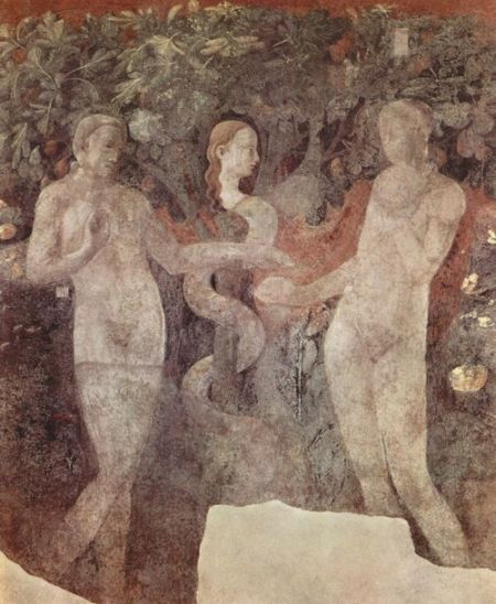 Paolo Uccello - Creation of Animals, Adam, Eve and Original Sin