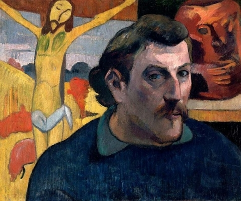 Paul Gauguin - Self Portrait with the Yellow Christ