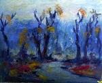 Serban Petre - Peisaj albastru