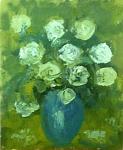 Serban Petre - Vaza flori verde