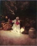 Maxfield Parrish - Arabian Nights . Ali Baba