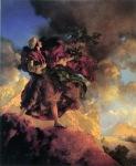 Maxfield Parrish - Arabian Nights . Talking Bird