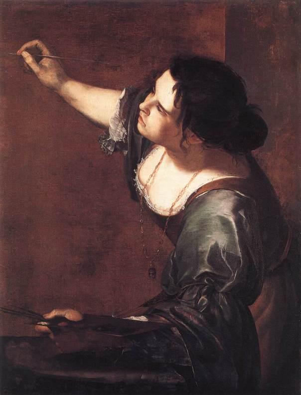 Artemisia Gentileschi - Self-Portrait as the Allegory of Painting