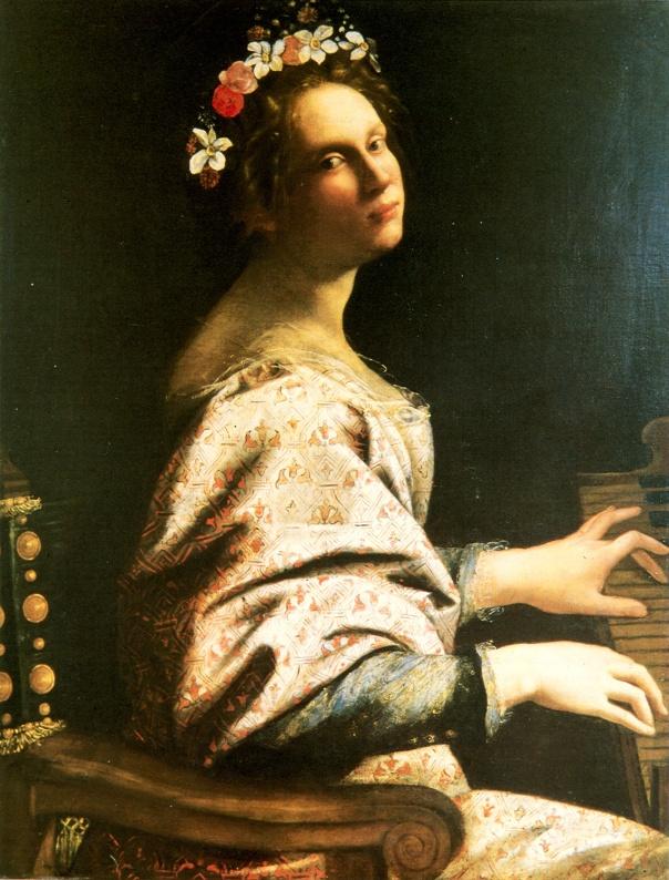 Artemisia Gentileschi - St Cecilia