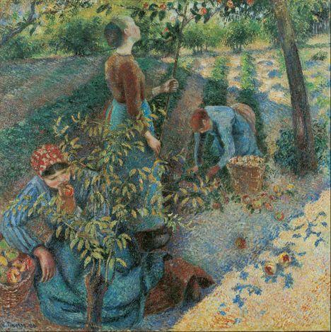 Camille Pissarro - Apple Picking