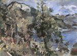 Lovis Corinth - Der Jochberg am Walchensee