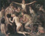 Lovis Corinth - Die Versuchung des heiligen Antonius