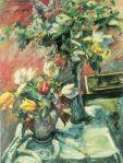 Lovis Corinth - Flieder und Tulpen