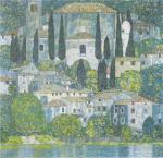 Gustav Klimt - Chruch in Cassone