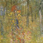 Gustav Klimt - Farm Garden with Crucifix