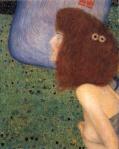 Gustav Klimt - Girl With Blue Veil