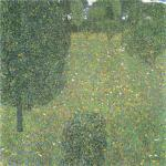 Gustav Klimt - Landscape Garden (Meadow in Flower)