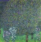 Gustav Klimt - Roses under the Trees