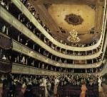Gustav Klimt - The Old Burgtheater.