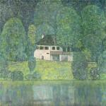 Gustav Klimt - Water castle.