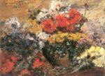 Lovis Corinth - Herbstblumen