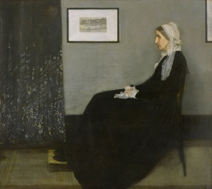 James Abbott McNeill Whistler - Arrangement in Grey and Black No. 1