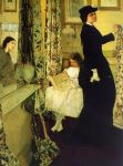 James Abbott McNeill Whistler - Harmony in Green and Rose The Music Room, 1861