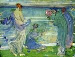 James Abbott McNeill Whistler - Variations in Blue and Green