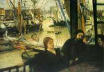 James Abbott McNeill Whistler - Wapping, 1861-64