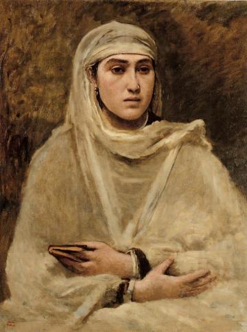 Jean-Baptiste-Camille Corot - Algerian Woman