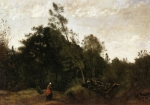 Jean-Baptiste-Camille Corot - Forest Clearing in the Limousin