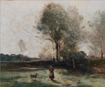 Jean-Baptiste-Camille Corot - Morning in the Field