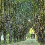 Gustav Klimt - Avenue of Schloss Kammer Park