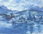 Lovis Corinth - Luzerner See am Nachmittag