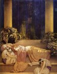 Maxfield Parrish - sleeping beauty