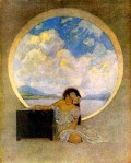 Maxfield Parrish - Pandora's Box