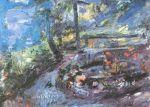 Lovis Corinth - Regenstimmung am Walchensee