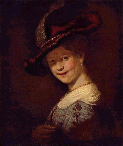 Rembrandt - Portrait of Saskia van Uylenburgh