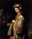 Rembrandt - Saskia as Flora 1634