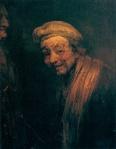 Rembrandt - Self Portrait as Zeuxis, c. 1662