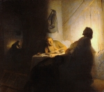 Rembrandt - The Supper at Emmaus,