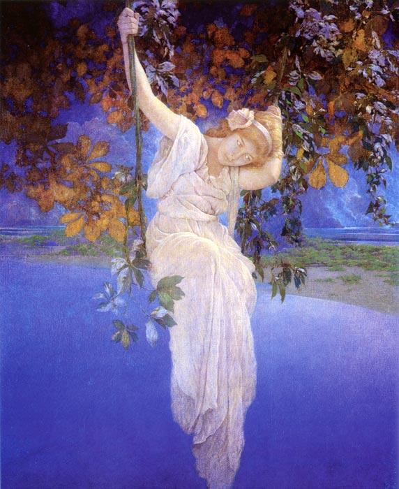 Maxfield Parrish - Reveries