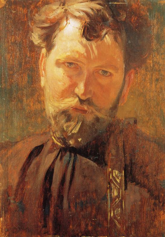 Alphonse Mucha - Self-Portrait