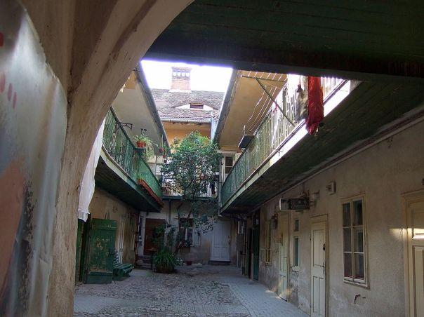 Sibiu,curte interioara
