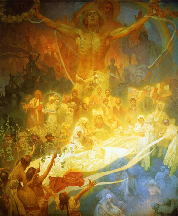 Alphonse Mucha - The Apotheosis Of The Slavs