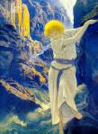 Maxfield Parrish - The Canyon