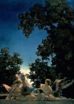 Maxfield Parrish - The Lute Players