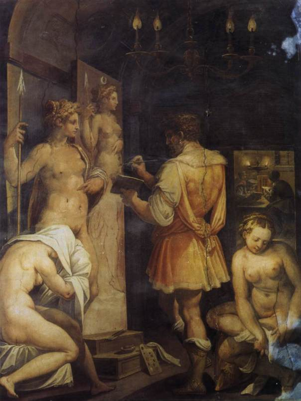Giorgio Vasari - The Studio of the Painter