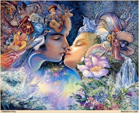 Josephine Wall-Prelude To A Kiss