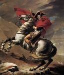 Jacques-Louis David - Bonaparte Crossing the St. Bernard Pass
