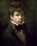 Jacques-Louis David - Portrait de Jean Auguste Dominique Ingres